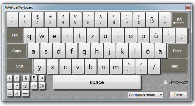 GermanLayout